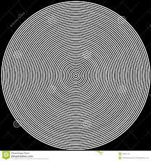 Radio Black Background Black And White Circles Background Royalty Free Stock Images