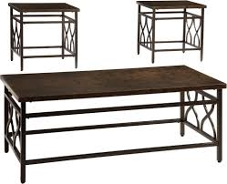 discount 3 piece metal coffee table set in chicago
