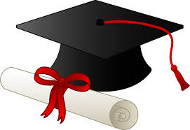 graduation diploma graduation cap and diploma free clip