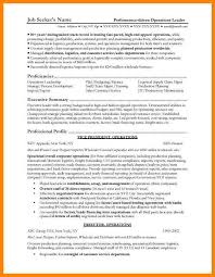 Operations Manager Resume Template Bank Resume Sample Operations Eliolera Com