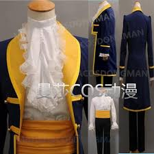 beauty and the beast prince adam men anime party halloween cosplay