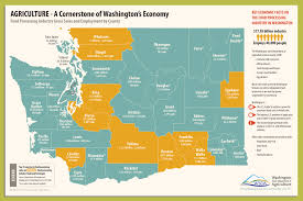 County Map Of Washington by Agriculture U0027s Contribution To Washington U0027s Economy Washington