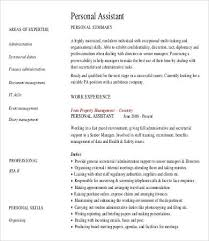 personal assistant resume ideas collection household assistant