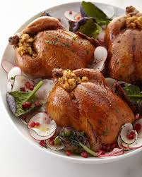 stuffed cornish hens for 4 6 neiman