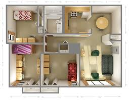 Standard Measurement Of House Plan by Room Dimensions Cougar Village