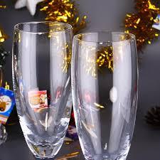 wedding goblets 2017colored glass goblets 2pcs set glasses