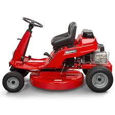 engine riding lawn mowers
