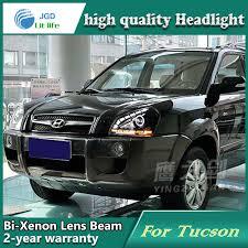 hyundai tucson 2007 accessories car styling l for hyundai tucson 2005 2009 headlights