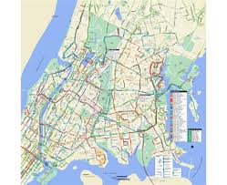 detailed map of new york maps of new york detailed map of new york city in
