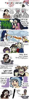 Which Meme Are You - a touhou meme by tiploufgirl on deviantart