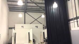 Curved Curtain Track System by Stage Curtain Track System Rooms
