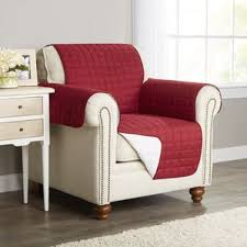 Red Armchair Red Chair Slipcovers You U0027ll Love Wayfair