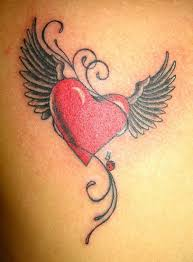 25 fantastic simple heart tattoos