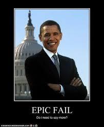 Meme Fail - obama epic fail politicalmemes com