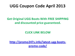 ugg discount voucher code ugg coupon code april 2013 free shipping and discount