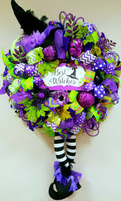 Halloween Wreath Ideas Front Door 10 Best Crafts Images On Pinterest Halloween Wreaths Halloween