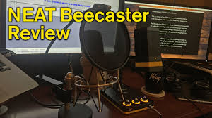 Neat Desk Organizer Reviews Neat Beecaster Professional Usb Desktop Microphone Review Youtube