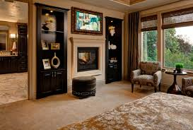 Master Bedroom With Fireplace Master Bedroom With Fireplace Interior Design