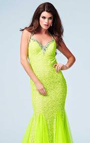 neon prom dresses shop neon green orange pink prom dresses