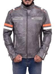 motor leather jacket men u0027s biker vintage motorcycle leather jacket ideal jackets