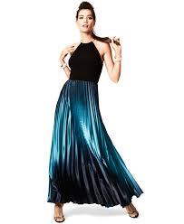 xscape sleeveless ombre halter gown dresses women macy u0027s