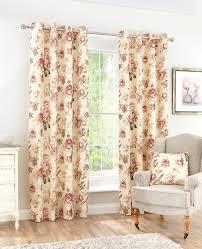 Vintage Eyelet Curtains Curtains Pole Accessories Vintage Floral Eyelet Curtains