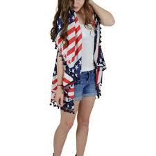 American Flag Cardigan Shop American Flag Vest On Wanelo
