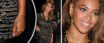 beyonce reps brooklyn with new tattoo ballerstatus com