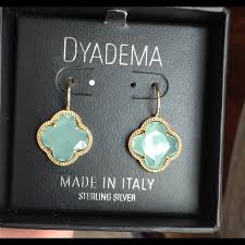 dyadema earrings dyadema jewelry dyadema clover earrings jewelry 3