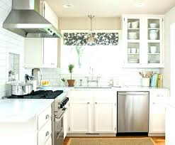 Ideas For Kitchen Curtains Modern Kitchen Window Treatments For Aluminum Blinds For Modern