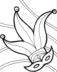 mardi gras mask coloring pages for kids coloringstar