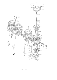 1992 suzuki katana 600 gsx600f carburetor model l m n p r s t