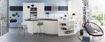 Black And White Kitchen Designs From Mobalpa by Arabesque Trend Mobalpa International
