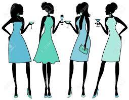 ladies cocktail clip art u2013 clipart free download