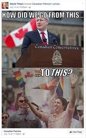 Justin Trudeau Memes - facebook followers fume after mp david tilson shares homophobic