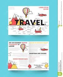 brochure travel brochure template