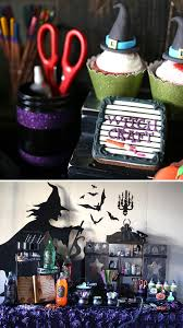 throw a crafty witch themed halloween party witchcraft ideas