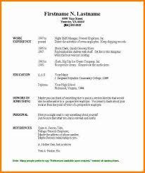 free teacher resume templates word resume template free basic templates for resume 11 word document
