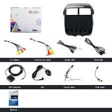 amazon com dasaita android 7 1 car stereo for mitsubishi asx rvr