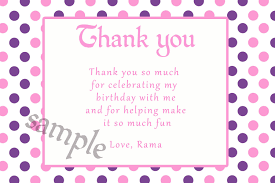 card baby shower thank you card template