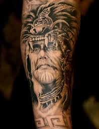 native tribal tattoos design idea for men and women