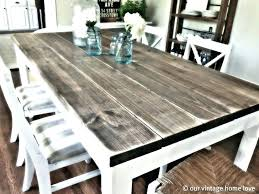 reclaimed wood dining table nyc glamorous best choice of distressed white dining room furniture