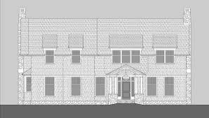 saranac lake shingle style home plans by david neff architect