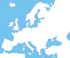 Map Of Europe And Asia by Blank Map Of Europe And Asia No Borders Calendar