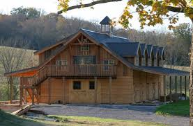 Horse Barns With Apartments Plans The Denali Barn Apartment 60 Can Add Some Beautiful Stone Work