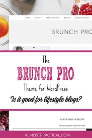 the brunch pro theme for a review