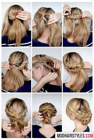 hairstyles with steps hairstyle steps for medium hair 2017