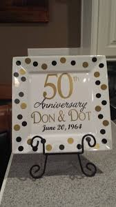 50th anniversary plate personalized 67 best 50th anniversary and 75th birthday images on