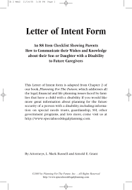 A Letter Of Intent by The Letter Of Intent