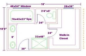 walk in closet floor plans bathroom and closet floor plans free 10x18 master bathroom